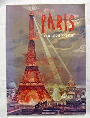 Paris In the Late 19th Century: Bascou, Marc; Gott,