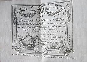 ATLAS GEOGRAPHICO DEL REYNO DE ESPAÑA E: Thomas Lopez