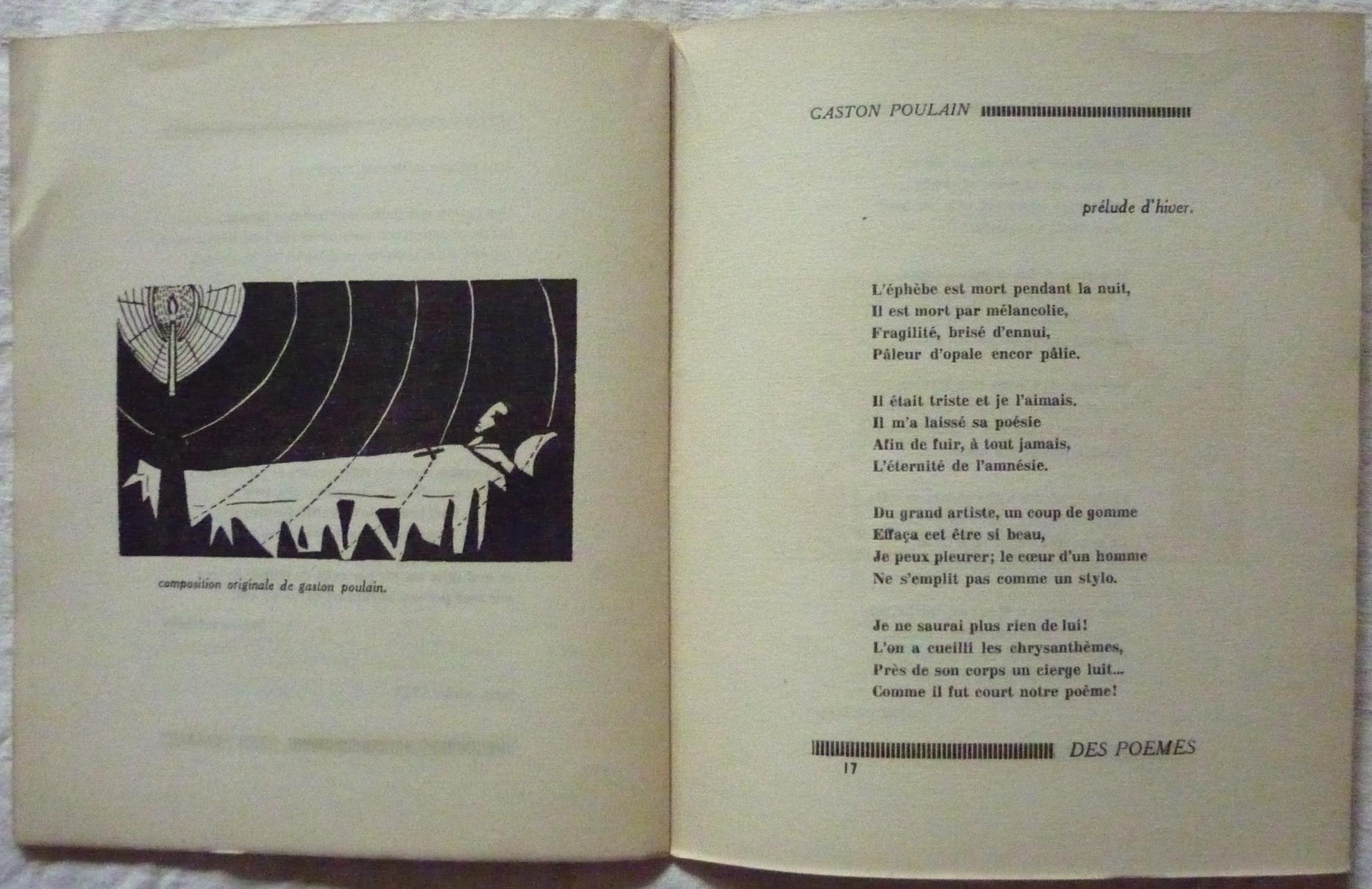 Des Poèmes Directeur Guy Lévis Mano