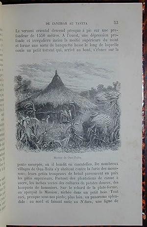 Au pays des Massaï, voyage d'exploration à travers les montagnes neigeuses et volcaniques et ...