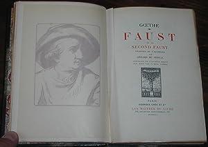 Faust et Le second Faust: GOETHE (von), Johann Wolfgang