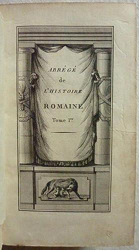 Abrégé de l'histoire romaine, depuis la fondation de Rome jusqu'à la bataille d'Actium:...