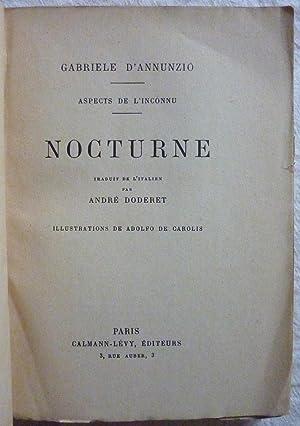 Aspects de l inconnu (III) - Nocturne: ANNUNZIO (d'), Gabriele