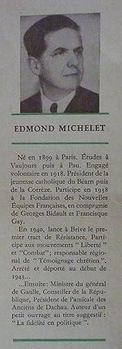 Rue de la liberté - Dachau 1943-1945: MICHELET, Edmond