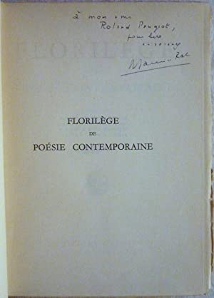 Florilège de poésie contemporaine: Collectif