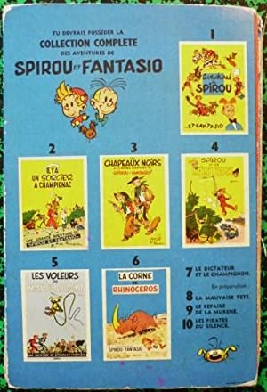 Le dictateur et le champignon (Les aventures de Spirou et Fantasio): FRANQUIN