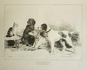 Les chiens et les chats d'Eugène Lambert: CHERVILLE, G. (de)