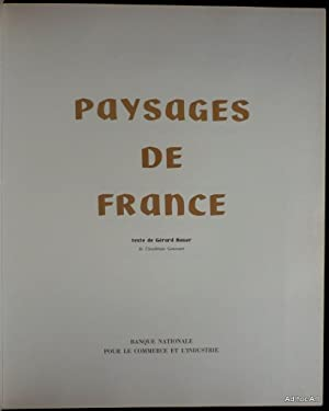 Paysages de France: BAUER, Gérard