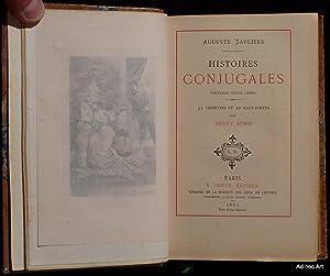 Histoires conjugales (Nouveaux contes lestes): SAULIERE, Auguste