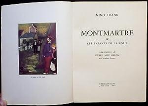 Montmartre ou Les enfants de la folie: FRANK, Nino