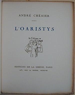 L'Oaristys: CHENIER, André