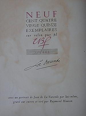 Amours: LA VARENDE (de), Jean