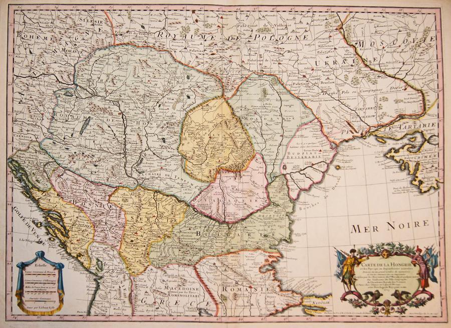 Carte De La Hongrie Et Des Pays L Isle