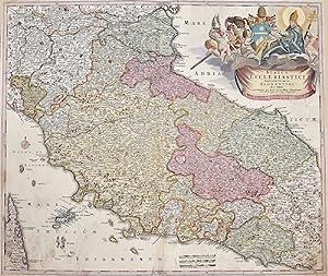 Status Ecclesiastici magnique ducatus Florentini: Homann Johann Babtiste ( 1664 - 1724 ) Nuremberg