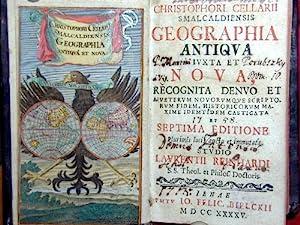 Christipheri Cellarii smalcaldiensis geographia antiqua iuxta et: Bielckii Felic.
