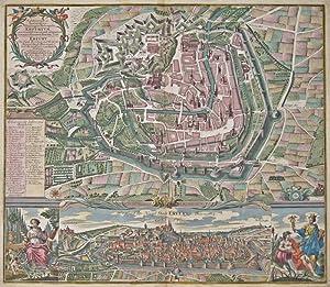 Celeberrima ac Spatiosissima Thuringiae Metropolis Erfurtum./ Erfurt: Seutter Matthias (1678-1757)