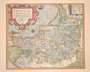 Prussiae regionis Sarmatiae Europeae Nobiliss. Vera et: Ortelius Abraham (1527