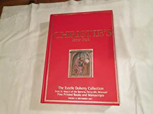 The Estelle Doheny Collection from St. Mary's of the Barrens, Perryville, Missouri. Fine Printed ...