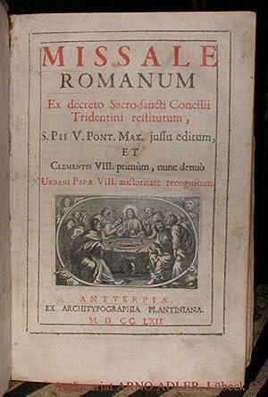 Missale Romanum. Ex decreto Sacro-sancti Concilii Tridentini: Theologie