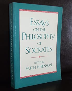 essays on the philosophy of socrates by benson abebooks essays on the philosophy of socrates hugh h benson