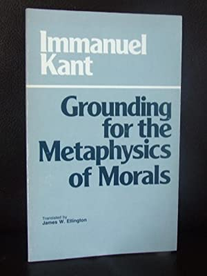 essay on grounding for the metaphysics of morals Home → sparknotes → philosophy study guides → grounding for the metaphysics of morals grounding for the metaphysics of morals immanuel kant table of contents.