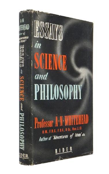 Essays In Science And Philosophy By Whitehead Alfred North   Essays In Science And Philosophy Whitehead Alfred North