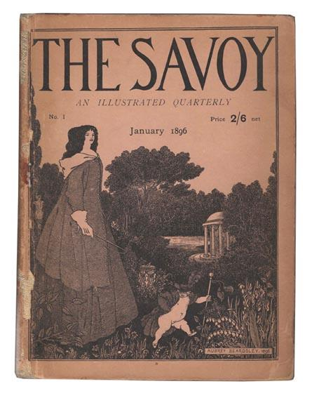 The Savoy. An Illustrated Quarterly [complete in 8 issues].: BEARDSLEY, Aubrey [et al.].