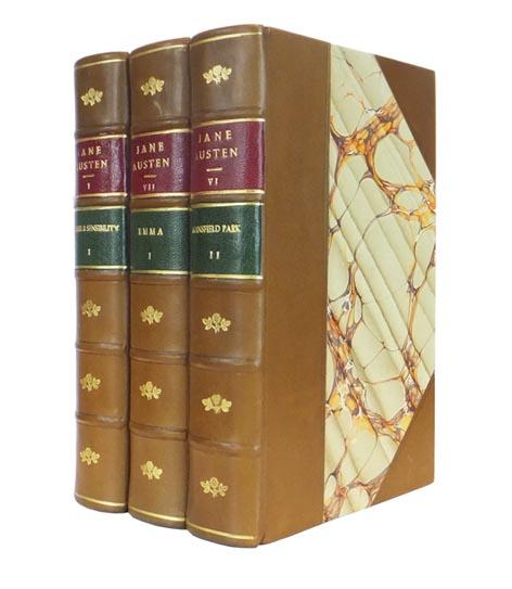 The Novels [Works] of Jane Austen. The works include: Sense and Sensibility, Pride and Prejudice, ...