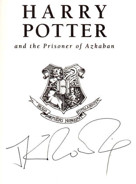 Harry Potter Prisoner Azkaban By Jk Rowling