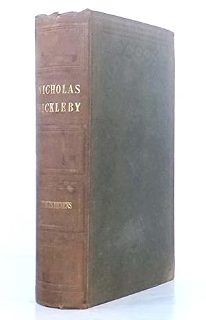 The Life and Adventures of Nicholas Nickleby.: DICKENS, Charles (1812-1870)