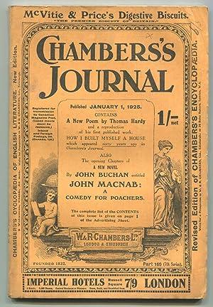 In The Original Chamber's Journal Parts; John: BUCHAN, John.