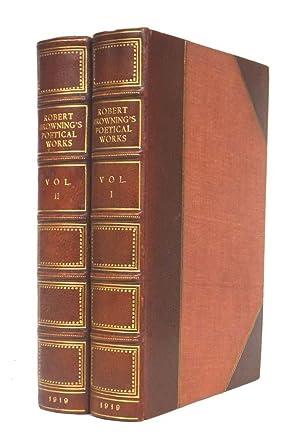 The Poetical Works of Robert Browning.: BROWNING, Robert.