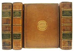 A Dictionary of the English Language. In: JOHNSON, Samuel (1709-1784)