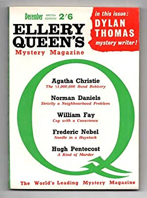 contribute to.'ELLERY QUEEN'S MYSTERY MAGAZINE'.