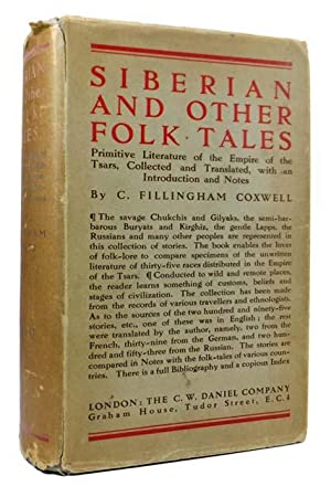 Siberian and Other Folk Tales. Primitive Literature: COXWELL, C. Fillingham