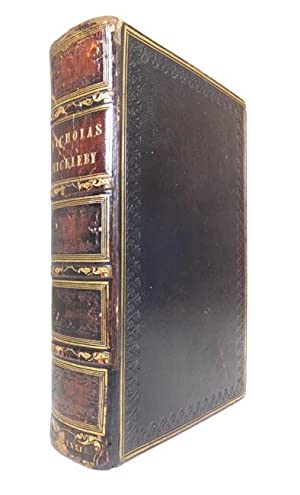 The Life and Adventures of Nicholas Nickleby.: DICKENS, Charles (1812-1870).