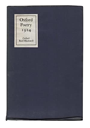 Oxford Poetry 1924.