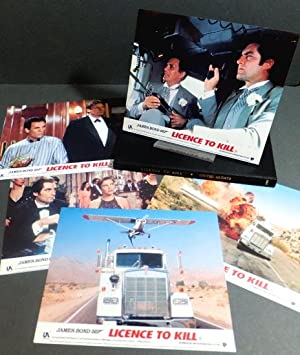 Licence To Kill. Set of official film stills/lobby cards.