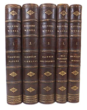 The Works of C. Dickens. Including: Pickwick: DICKENS, Charles [PHIZ].