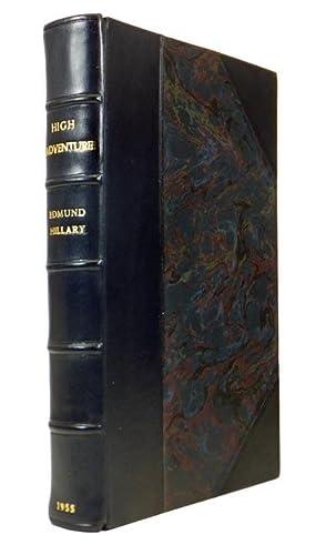 High Adventure.: HILLARY, Edmund Percival