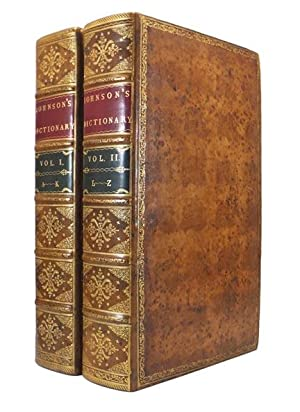 A Dictionary of the English Language; In: JOHNSON, [Dr] Samuel
