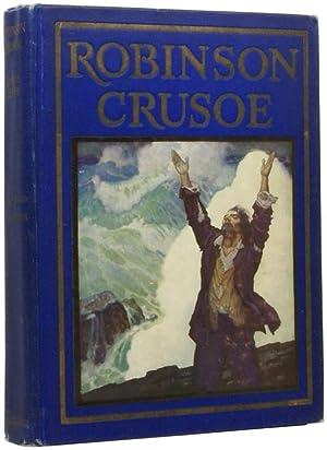 Robinson Crusoe. Pictures by N.C.Wyeth: WYETH, N.C.] DEFOE,