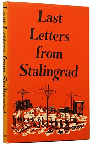 Last letters from Stalingrad.: ANONYMOUS, [POWELL, Anthony,