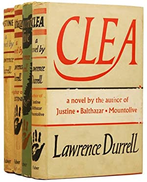 Justine, Balthazar, Mountolive, Clea; being The Alexandria: DURRELL, Lawrence (1912-1990).