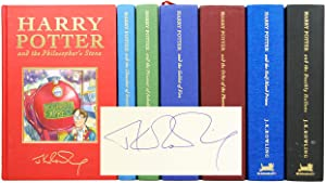 Harry Potter Series, Complete Deluxe Set: The Philosopher's Stone; The Chamber of Secrets; The Pr...