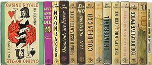 Complete James Bond series comprising Casino Royale,: FLEMING, Ian Lancaster