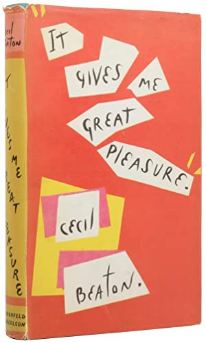 It Gives Me Great Pleasure: BEATON, Cecil (1904-1980)