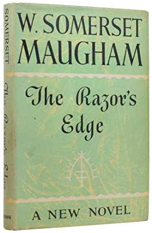 The Razor's Edge. A New Novel: MAUGHAM, William Somerset