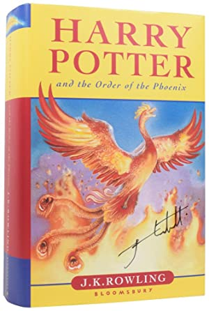 Harry Potter and the Order of the: ROWLING, J.K. (born