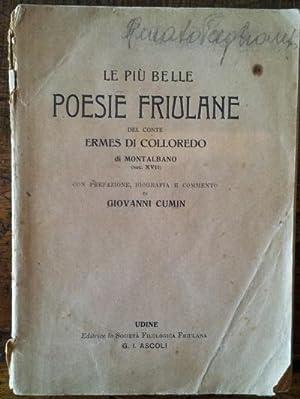 Le più belle poesie friulane: Conte di Colloredo